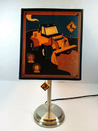 Circo Construction Machines Table Lamp Shade Kids Room Bedroom Decor For Sale Online