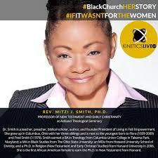 REV. MITZI J. SMITH, PH.D. #BlackChurchHERSTORY - .base - Black ...