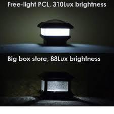 Solar Fence Post Lights You Ll Love Free Light Solar Light News