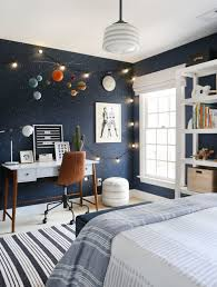 A Bold Playful And Out Of This World Kid S Room Sunny Circle Studio Boy Bedroom Design Outer Space Bedroom Boy Room Paint