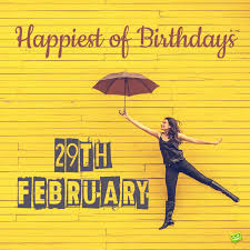 funny leap day birthday wishes for those born on feb