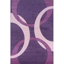 Hawthorne Collection 5 X 7 7 Kids Area Rug In Purple And Baby Pink Walmart Com Walmart Com