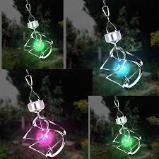 outdoor hanging solar garden lights