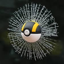 Pokemon Go 3d Poke Ball Car Window Decal Sticker
