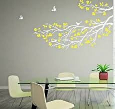Large Tree Branch Wall Sticker Birds Wall Art Vinyl Diy Home Decor Wall Decal Ebay