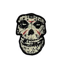 8 6cm 12cm Car Sticker Visionary Misfits Crystal Lake Skull Windows Decal Pvc 6 0149 Wish