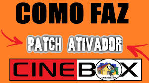 Cinebox Brasil TV - NOVA PATCH $K$ 107W CINEBOX ! COMO FAZ ...