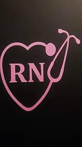 Amazon Com Chase Grace Studio Nurse Nursing Rn Lpn Stethoscope Vinyl Decal Sticker Pink Cars Trucks Vans Suv Laptops Wall Art 5 5 X 5 5 Cgs553 Automotive