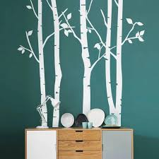 Birch Tree Wall Decal The Treasure Thrift