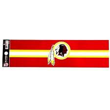 Washington Redskins Bumper Sticker 11 X 3 Nfl Football Decal Car Tru My Team Depot