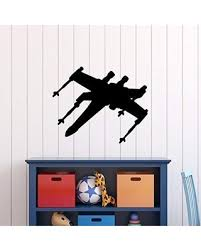 Get This Deal On Star Wars Wall Decal X Wing Starfighter Jedi Rebels Spaceship Vinyl Sticker Decor For Boy S Room Playroom Birthday Party Gift