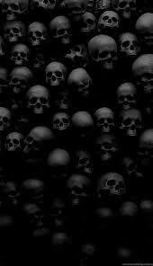 skull wallpaper for iphone mega