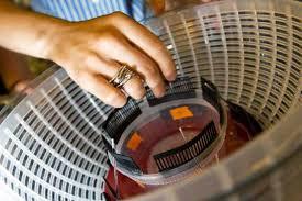salad spinner into life saving centrifuge