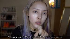 makeup ala korean makeup artist pony