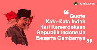 quote kata kata indah agustus ucapan hari kemerdekaan