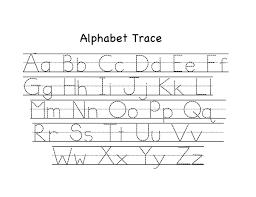 worksheet printable alphabet