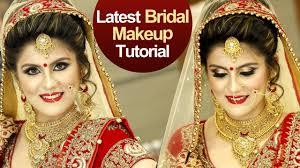 bridal makeup tutorial video step by