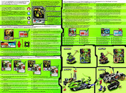 Building Instructions - LEGO 9591: LEGO® Ninjago Weapon Pack - Book 2