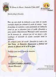 Modelo De Carta De Invitacion A Un Evento Formal Word Las Cartas