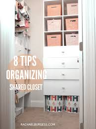 8 Tips For Organizing A Shared Closet For Kids Rachael B Mom Blogger