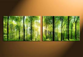 Large Abstract Modern Canvas Wall Art Decorative Handmade Nature Independence