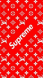 supreme x louis vuitton wallpapers