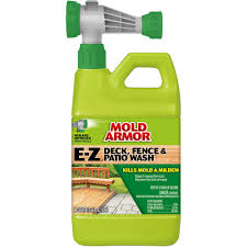 Mold Armor 64 Oz E Z Deck And Fence Wash Mold And Mildew Remover Fg51264 The Home Depot