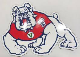 Rico Industries Ncaa Fresno State Bulldogs Die Cut Team Magnet 2 Ebay