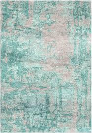 nickel gray silken modern 6x6 round rug