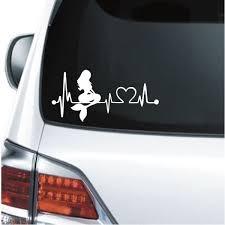 Mermaid Heartbeat Love Window Decal Sticker Custom Sticker Shop