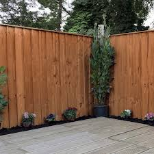 4ft X 6ft Featheredge Pressure Treated Fence Panel One Garden