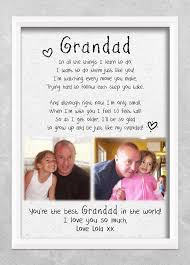 grandad gift poem cloud nine treres