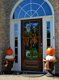 fall door decorating ideas design