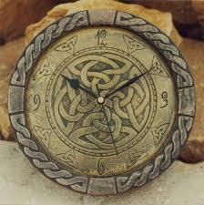 large killyliss celtic wall clock