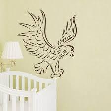 Shop Eagle Vinyl Sticker Animal Decal Interior Design Mural Kids Nursery Room Bedding Decor Sticker Decal 22 X 22 Black On Sale Overstock 15427919