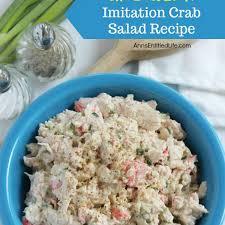 Imitation Crab Salad Healthy Recipes ...