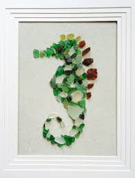 tutorial sea glass seahorse
