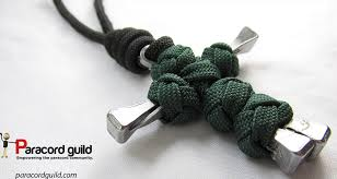 how to make a paracord nail cross