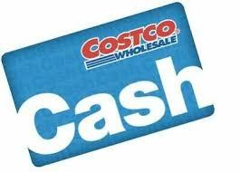 25 costco cash card gift card no