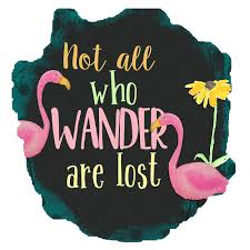 Not All Who Wander Are Lost Personalized Window Decal Bumper Sticker Car Window Decal Vinyl Car Decal Yeti Tumbler Decal Wall Decal Laptop Decal Peel And Stick Vinyl Decals