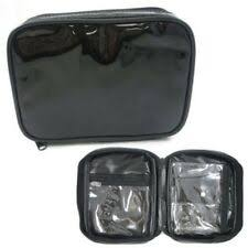 bulk black makeup bags ebay