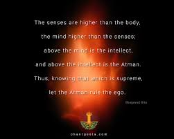 let the atman rule our ego bhagavadgita gita quotes bhagavad