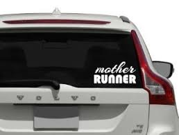 Mother Runner Decal Car Decal Vinyl Sticker Decal Car Window Sticker Runners Gift Personalized Decal Sweet Diva Mj