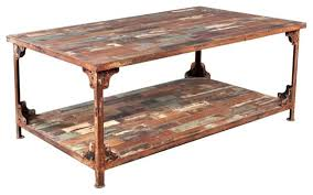 distressed reclaimed wood wrought iron