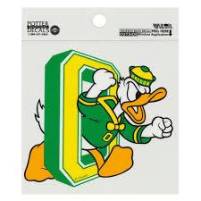 Oregon Ducks Window Sticker Made In Oregon