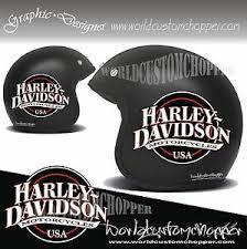 2 Stickers Decals Stickers Helmet Helmet Bandit Harley Davidson Custom Bikes Ebay