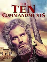 The Ten Commandments Movie TV Listings ...