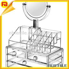 whole acrylic makeup organizer with
