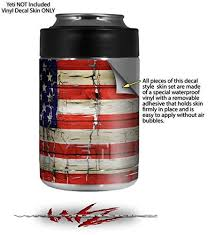 Wraptorskinz Patriotic Skin Wrap For Yeti Rambler Colster And Rtic Can Cooler Not Included By Buy Online In Oman Wraptorskinz Products In Oman See Prices Reviews And Free Delivery