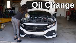 honda civic oil capacity and oil change